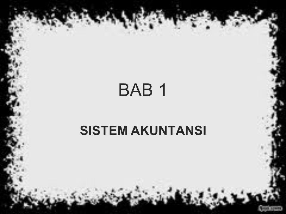 BAB 1 SISTEM AKUNTANSI