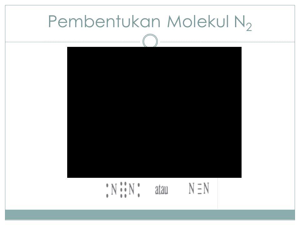 Pembentukan Molekul N 2