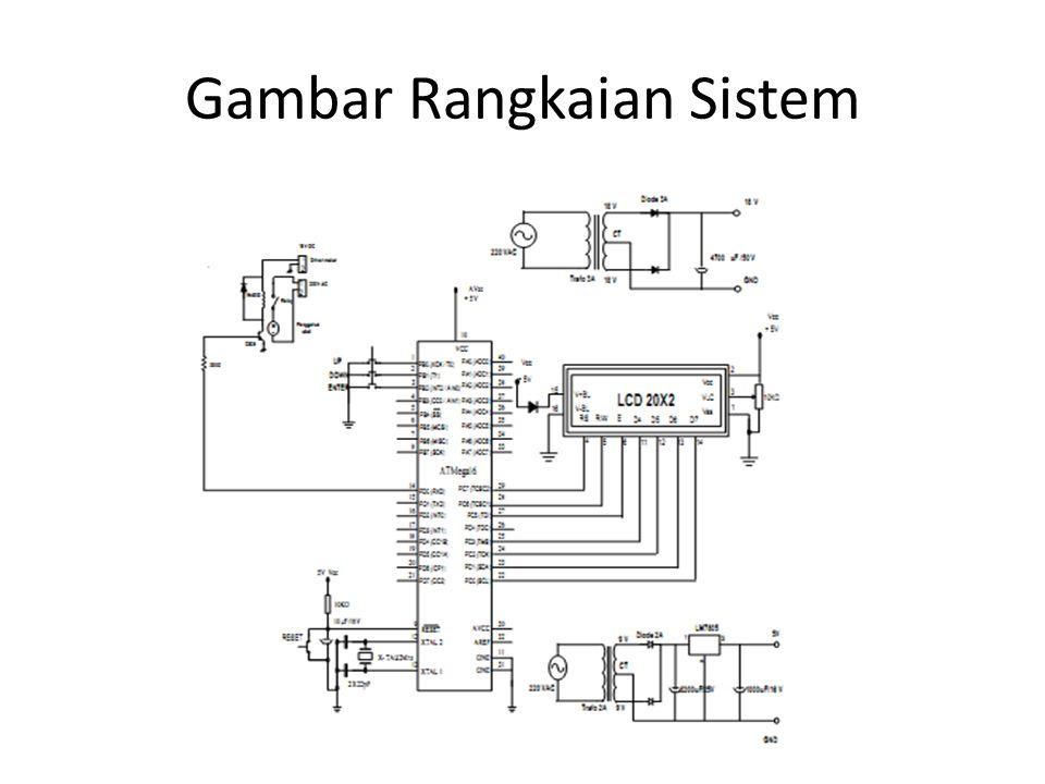 Gambar Rangkaian Sistem