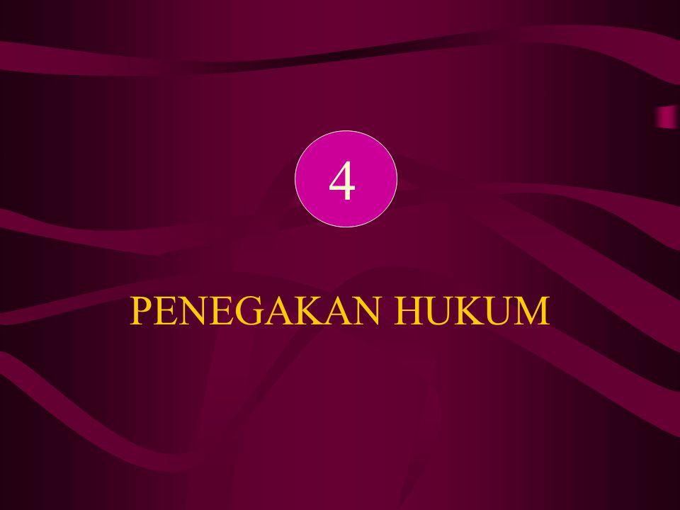 PENEGAKAN HUKUM 4