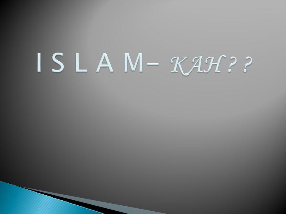 3.Ali Imran 19. Sesungguhnya agama (yang diridhai) disisi Allah hanyalah Islam.