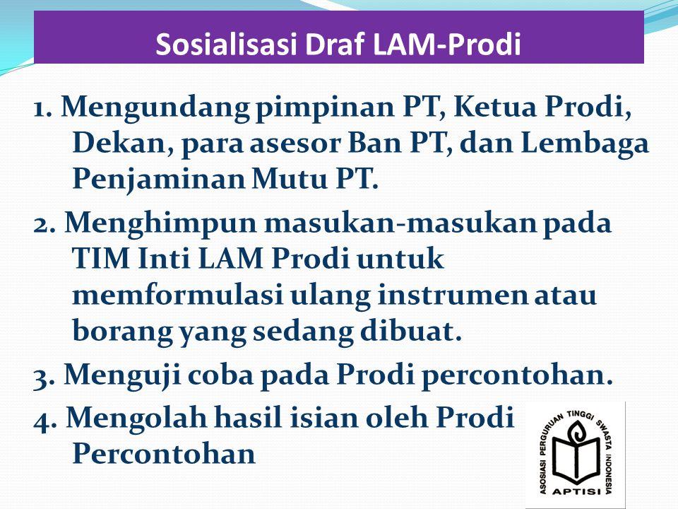 Sosialisasi Draf LAM-Prodi 1.