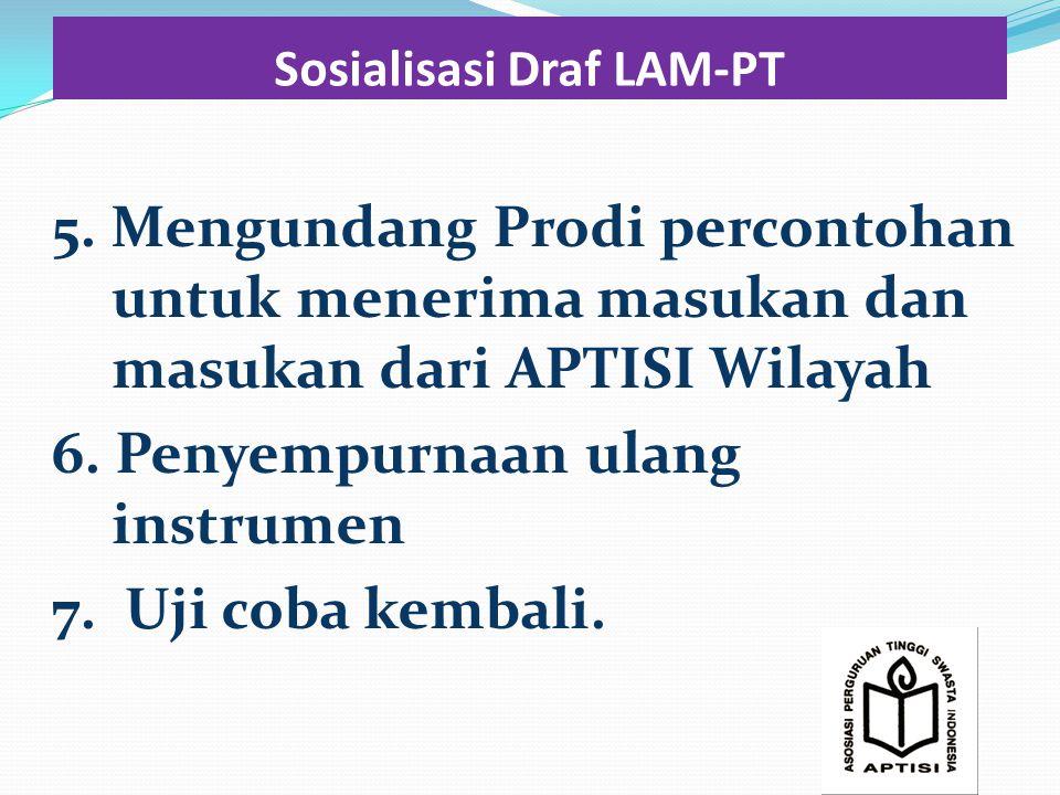 Sosialisasi Draf LAM-PT 5.