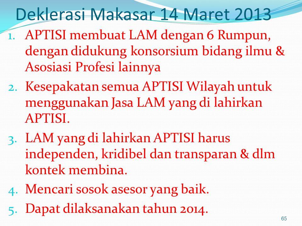 Deklerasi Makasar 14 Maret 2013 1.