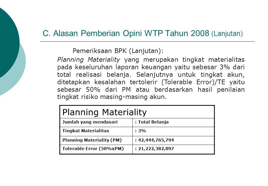  Melakukan prosedur alternatif melalui pemeriksaan fisik atas aset tetap di Propinsi Jawa Barat, Jawa Tengah dan Jawa Timur dalam rangka meyakini keberdaan aset tetap yang belum diinventarisasi.