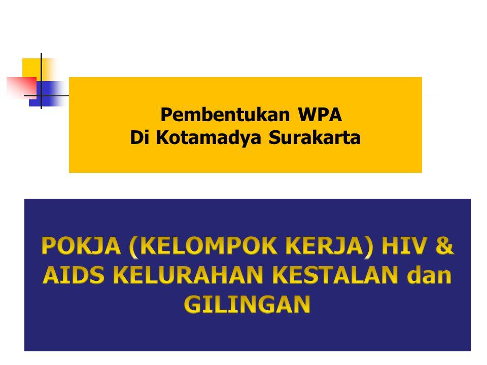 Pembentukan WPA Di Kotamadya Surakarta