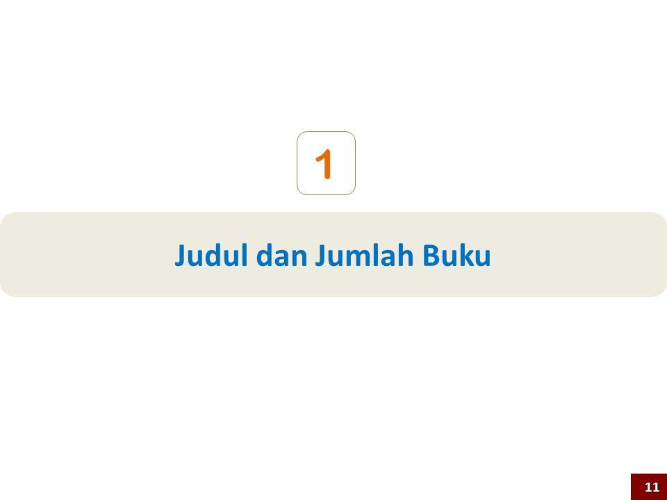 Judul dan Jumlah Buku 1 11