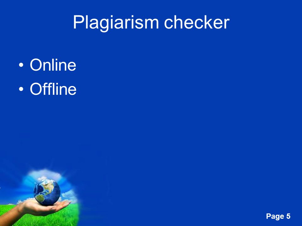 Free Powerpoint Templates Page 5 Plagiarism checker Online Offline