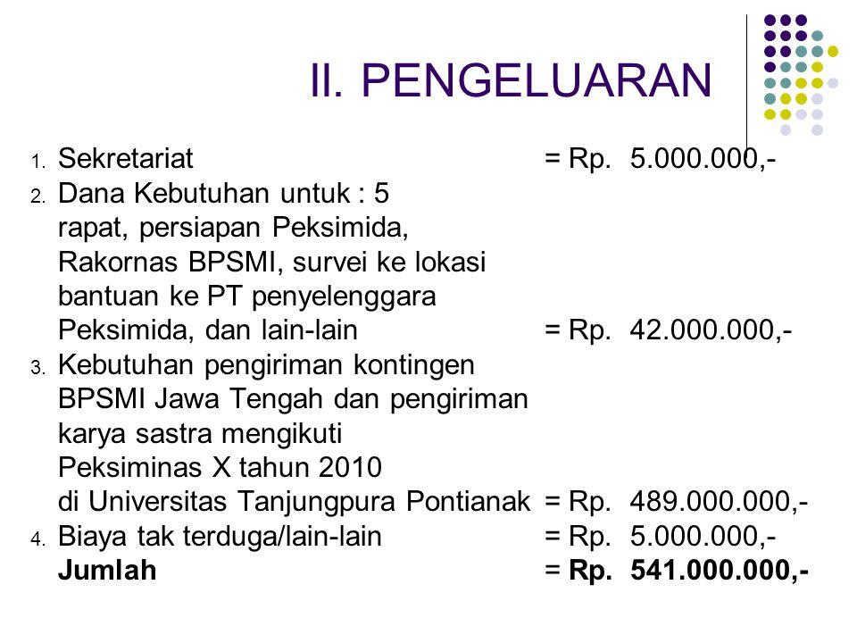 Monolog dari BPSMI Jawa Tengah diwakili dari ISI Surakarta Vokal Group dari BPSMI Jawa Tengah diwakili dari Universitas Kristen Satya Wacana Salatiga