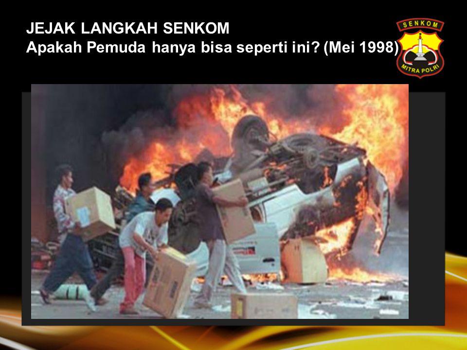 Sejarah Senkom: 28 Oktober 2002 Kristalisasi Sumpah Pemuda: 1.Kami putera dan puteri Indonesia mengaku bertumpah darah yang satu, Tanah Indonesia.