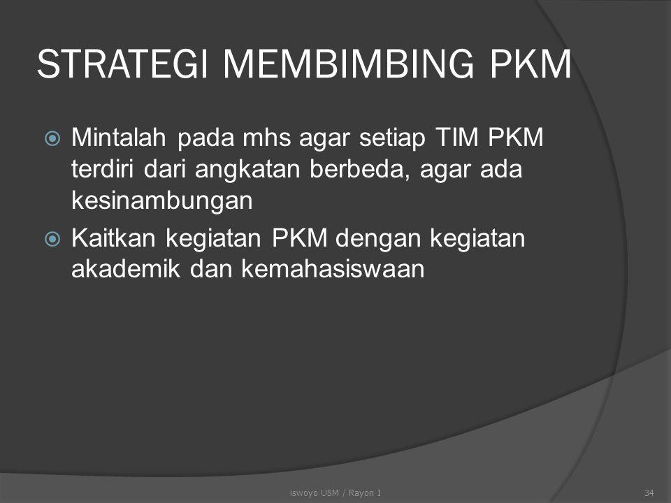 Peran Dosen Pendamping  Mendampingi dan mengarahkan mhs agar PKM dilaksanakan sesuai dengan yang tertulis proposal.  Membantu mhs agar mendapatkan a
