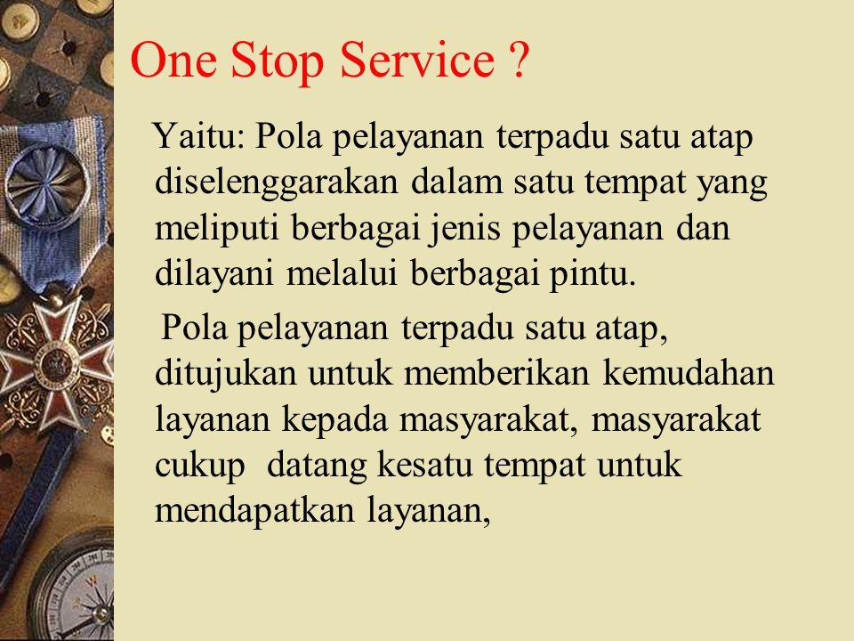 Reformasi dalam Pelayanan Penyelenggaraan Ibadah Haji ONE STOP SERVICE