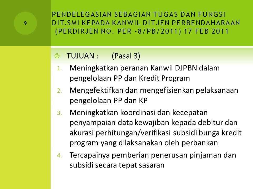GAMBARAN UMUM PROSES RESTRUKTURISASI BUMN/PT Perdirjen No. Per-31/PB/2007 20