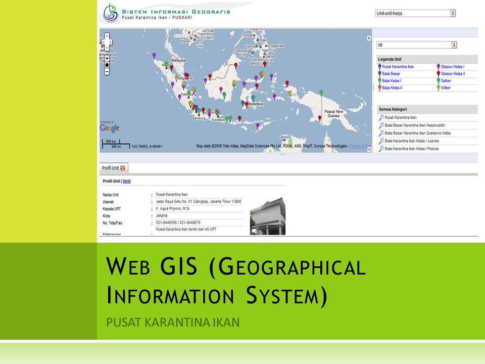 A PA ITU GIS .