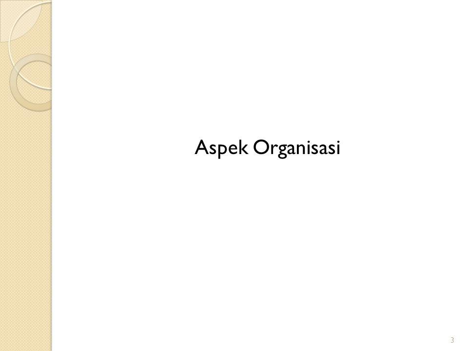 Aspek Organisasi 3