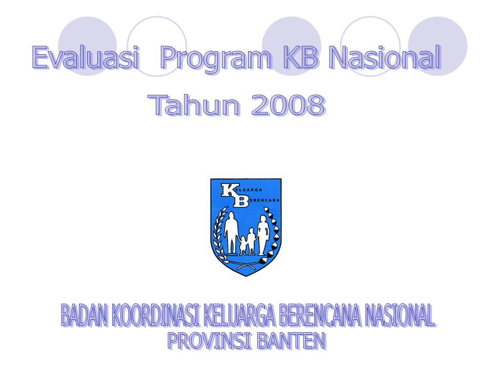 PERBANDINGAN PROSENTASE PESERTA KB BARU MENURUT TEMPAT PELAYANAN KB BULAN ( DESEMBER 2007 DAN DESEMBER 2008 ) PROVINSI BANTEN