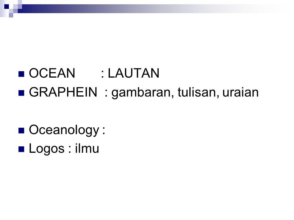 LIPI : LON : LEMBAGA OSEANOLOGI NASIONAL BAKOSURTANAL LAPAN NASA NOAA