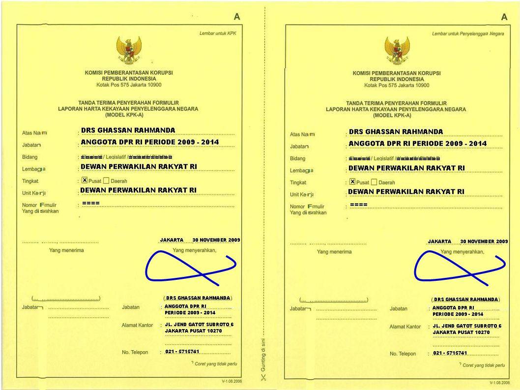 Jakarta, 30 Nopember 2009 Ghassan Rahmanda 110035860 HARLEY DAVIDSON ULTRA CLASSIC 2006 / 1 UNIT 235.000.000 JL.
