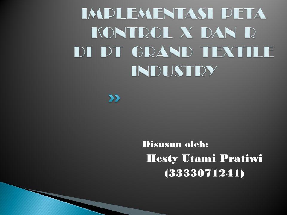 Disusun oleh: Hesty Utami Pratiwi (3333071241)