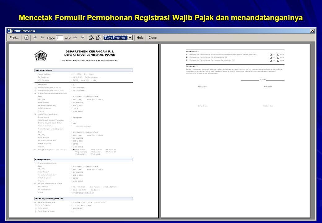 10 Mencetak Surat Keterangan Terdaftar (SKTS) 173