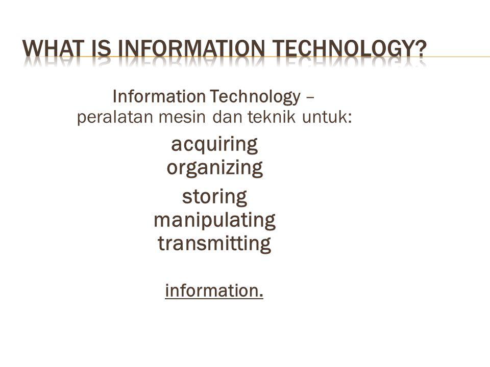 Computer-based Information Systems  Meningkat berkaitan dengan decentralization of managerial decision making (re-organizing the company)  Flattening ( delayering ) organizations  Information systems mengurangi kebutuhan akan hirarki untuk mengontrol perusahaan.