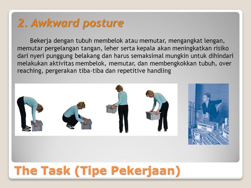 The Task (Tipe Pekerjaan) 2.