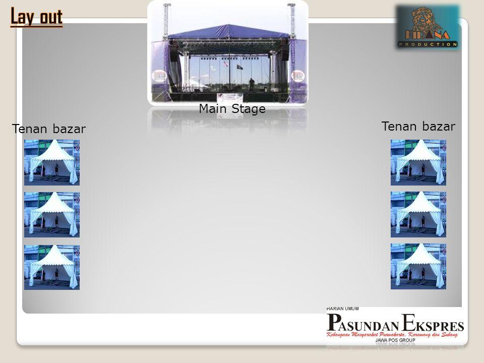 Tenan bazar Main Stage Tenan bazar
