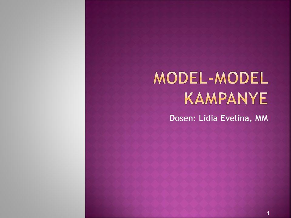  Model adalah representasi suatu fenomena, yang nyata ataupun yang abstrak dengan menonjolkan unsur-unsur terpenting fenomena tersebut.