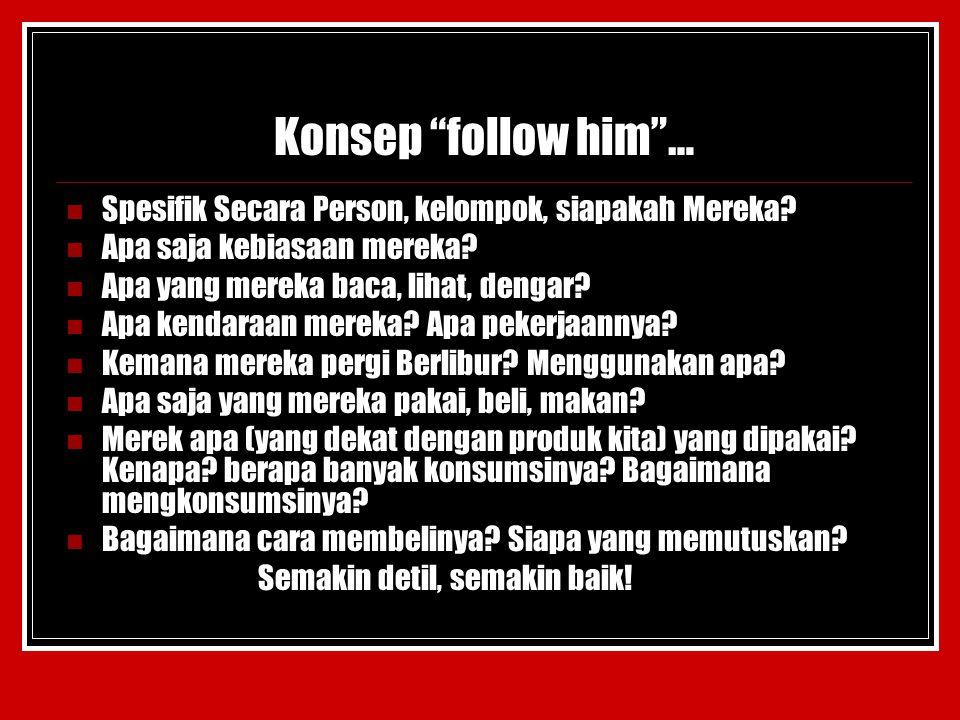 Konsep follow him … Spesifik Secara Person, kelompok, siapakah Mereka.