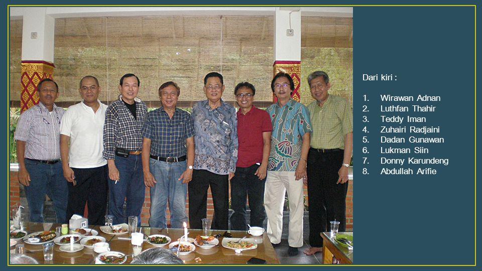 Menyimak kata sambutan Ketua IAM yang baru … Pak Dadan sudah menawarkan kita untuk ber Halal Bihalal di Hotel Intan milik beliau di Purwakarta … kata Pak Luthfan.