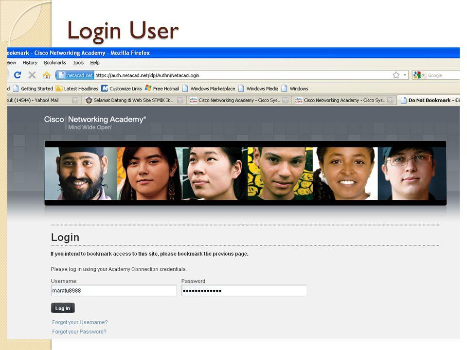 Login User
