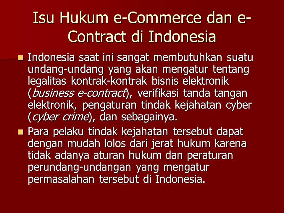 Tidak adanya ketentuan hukum dan perundang-undangan Seringkali pengadilan di Indonesia berpandangan bahwa karena Indonesia belum memiliki undang-undang khusus yang melarang tindakan cybersquating sebagai tindakan yang melawan hukum, maka terdakwa harus dibebaskan.