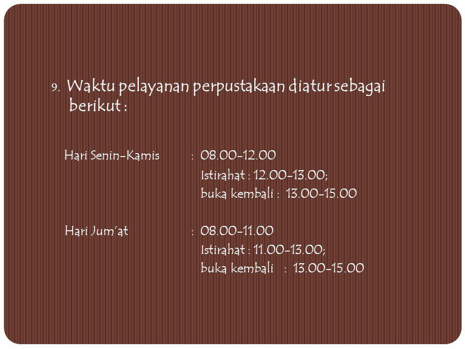 8. LOKASI: KAMPUS STP JURLUHKAN Jl. Cikaret nomor 2 Kotak Pos 155, telpon (0251) 8485231, Fax. (0251) 8485169, e-mail: jurluhkan@dkp.go.id BOGORjurluh