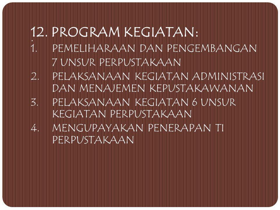 II. KEANGGOTAAN 1.Civitas akademika Yang dapat menjadi anggota perpustakaan yaitu semua civitas akademika (Mahasiswa, Dosen, dan Karyawan) STP Jurluhk