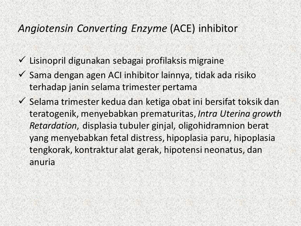 Toksin Botulinum Tidak ada data pada manusia yang diketahui bersifat teratogenik akibat toksin botulinum, berkaitan dengan migrain kronis pada kehamilan dan masa menyusui.