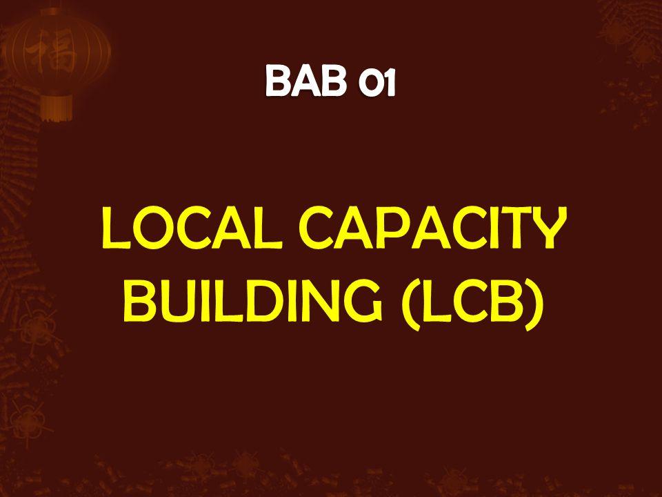 LOCAL CAPACITY BUILDING (LCB)