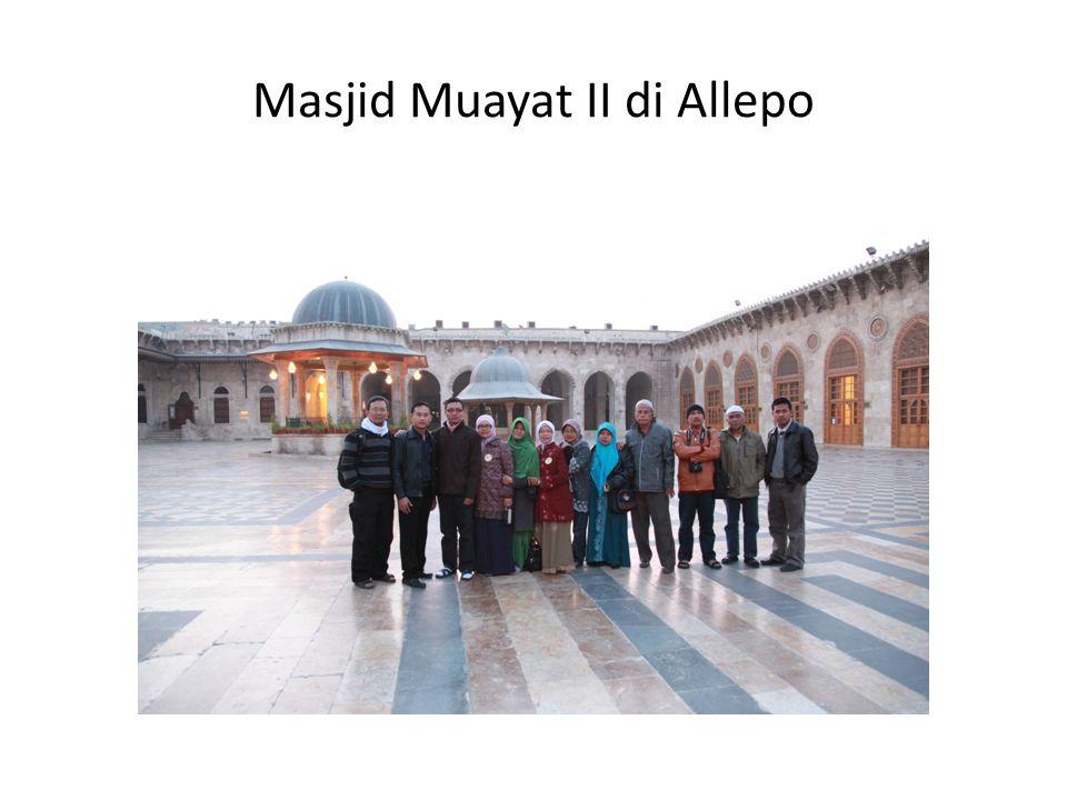Masjid Muayat II di Allepo