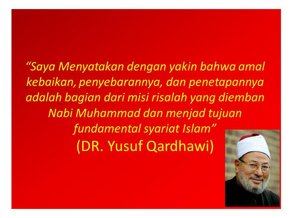 Penuturan kata 'kebaikan' dalam Al-Quran dan Assunah 1.