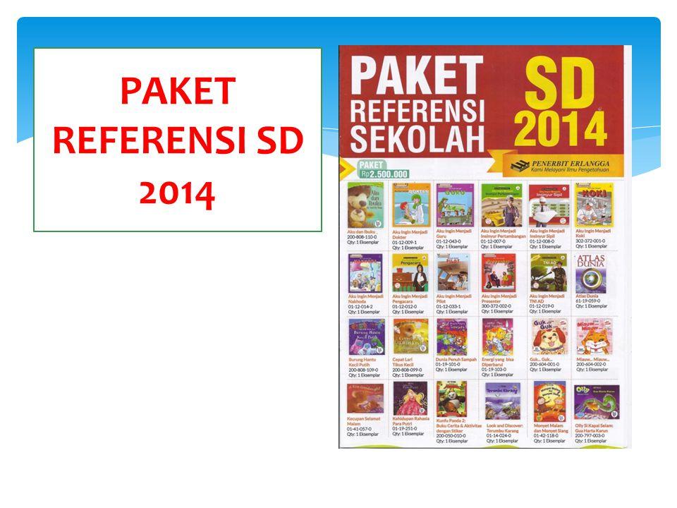 PAKET REFERENSI SD 2014