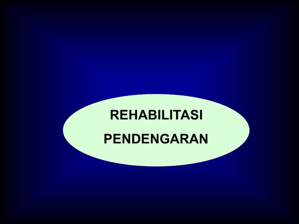REHABILITASI PENDENGARAN