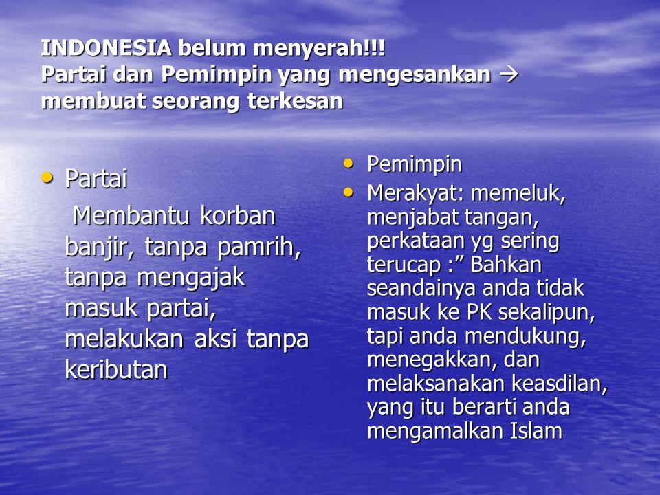INDONESIA belum menyerah!!.