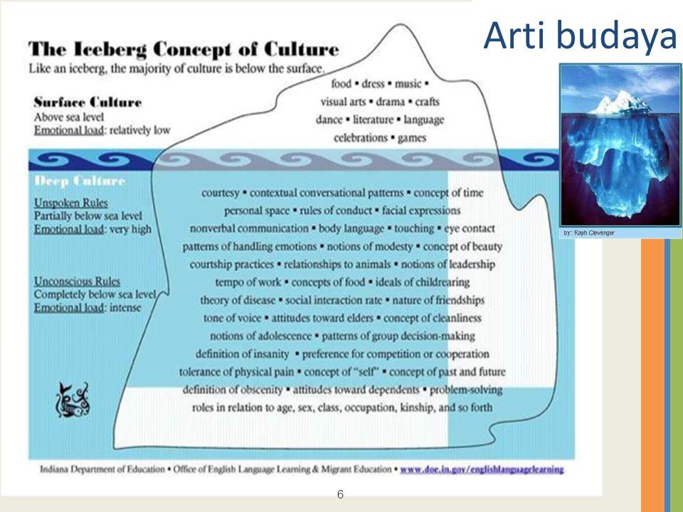 6 6 Arti budaya