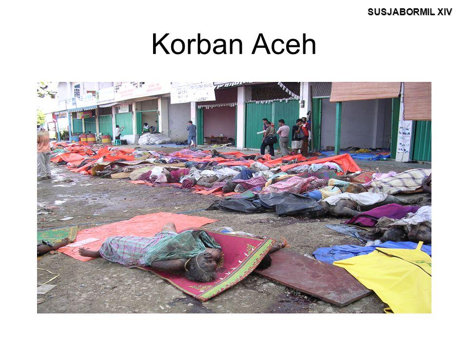 SUSJABORMIL XIV Korban Aceh