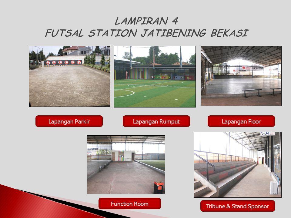 Lapangan ParkirLapangan RumputLapangan Floor Function Room Tribune & Stand Sponsor