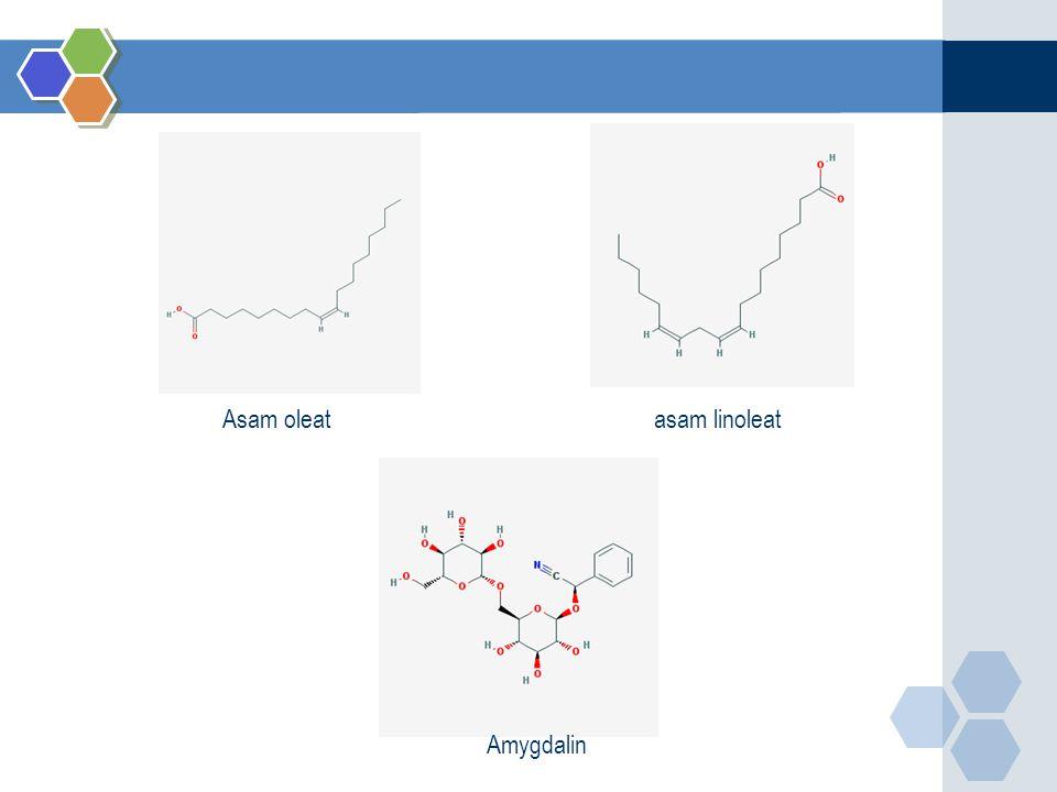 asam linoleatAsam oleat Amygdalin