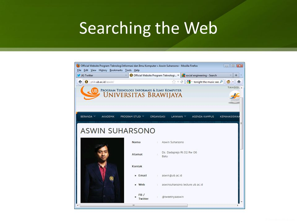 Searching the Web