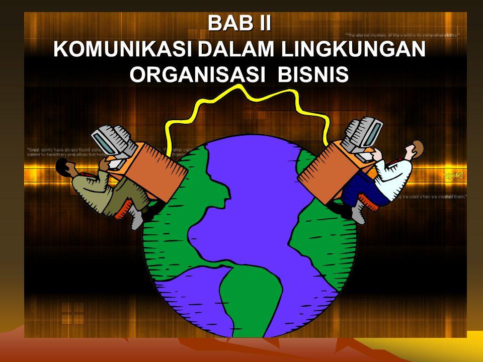 Pentingnya Komunikasi Organisasi terdiri atas sejumlah orang yang saling ber- interaksi dan saling bergantung.