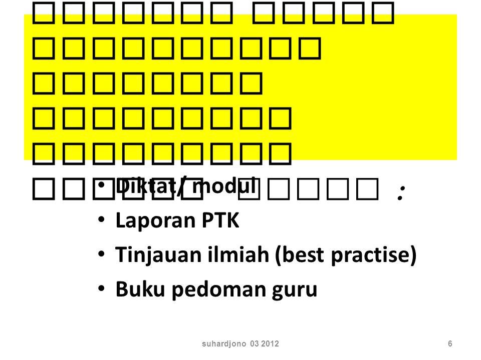 Peserta TOT Guru Berprestasi Widia Iswara LPMP suhardjono 03 20125