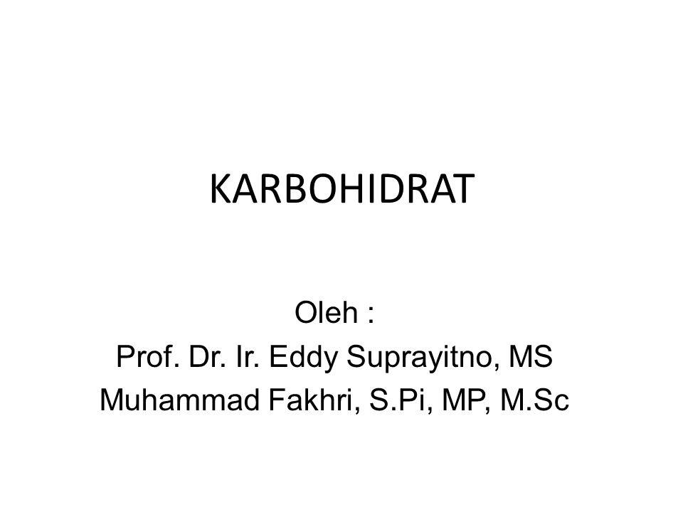 Tujuan Instruksional Khusus Mahasiswa mampu menjelaskan definisi, sumber, klasifikasi serta fungsi dari karbohidrat.