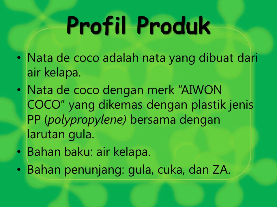 Diagram Alir Proses Produksi Diagram Alir